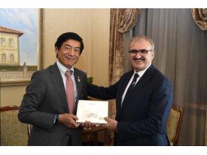 Japon Büyükelçiden Antalya'ya övgü