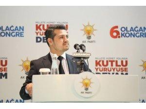 AK Parti İl Gençlik Kolları Başkanı Hasan Şahin istifa etti