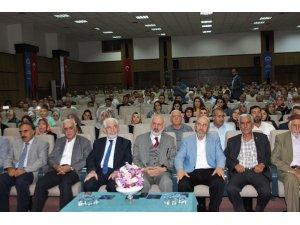 """Elazığ'da """"Camiler ve Din Hizmetine Adanmış Ömürler"""" konferansı"""