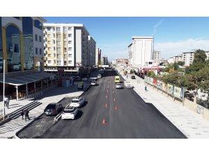 İskele Caddesi asfaltlandı