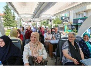 Sapanca'da Yaşlılar Haftası gezisi
