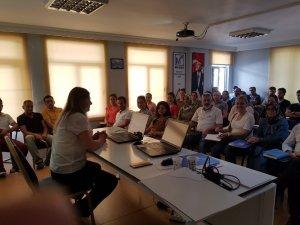 Manavgat SMMMO' da Luca yazılımı eğitim toplantısı