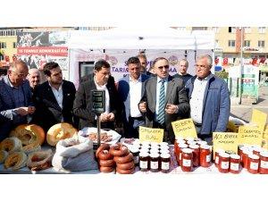 Mustafakemalpaşa'da yerel ürünler vitrine çıkıyor