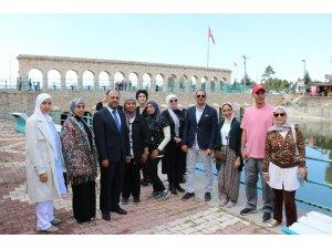 Körfez ülkelerinin tur operatörleri Beyşehir'i gezdi