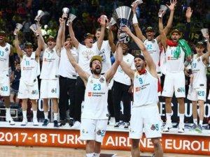 Basketbol Avrupa Ligi'nde rekor Real Madrid'de