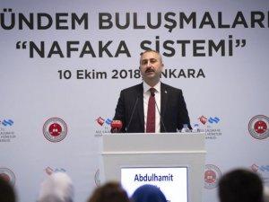 Adalet Bakanı'ndan 'Nafaka' açıklaması