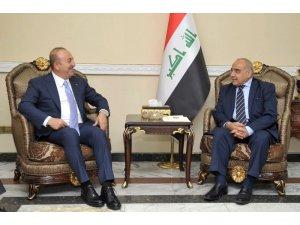 Çavuşoğlu, Irak'ta yeni hükümeti kurmakla görevli Abdülmehdi ile görüştü