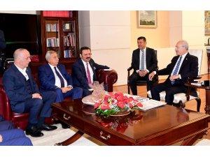 Türkiye-AB KİK üyelerinden Kılıçdaroğlu'na ziyaret
