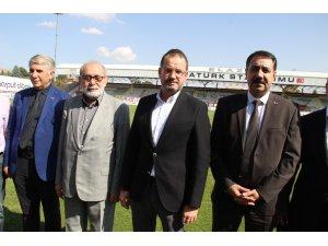 """Spor Genel Müdür Yardımcısı Dursun Türk, """"Türkiye'de şuan yürüttüğümüz 37 tane stadyum var"""""""