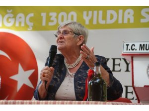 """Canan Karatay: """"Zeytinyağı kullanımı artarsa hastalık kalmaz"""""""