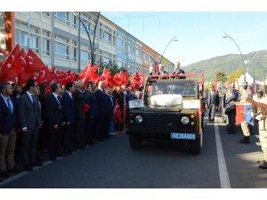 Ordu'da 29 Ekim coşkusu