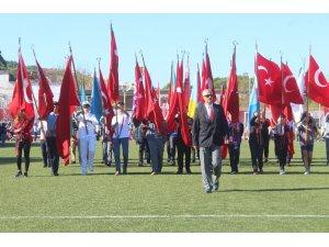 Ayvalık'ta Cumhuriyet Bayramı coşkusu