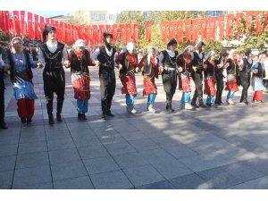 Manyas'ta Cumhuriyet bayramı kutlandı
