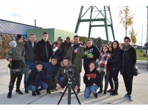 Almanya'da ırkçılığa ve dışlanmaya karşı film çektiler