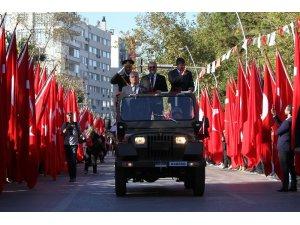 Antalya'da coşkulu 29 Ekim kutlaması