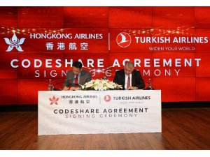 THY ile Hong Kong Havayolları ortak uçuş anlaşması imzaladı