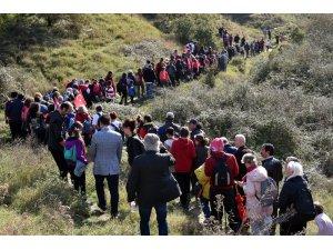 Cumhuriyet Bayramı'nı doğa yürüyüşü ile kutladı