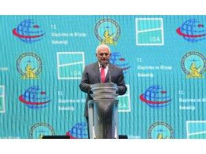 TBMM Başkanı Yıldırım yeni havalimanı açılışında konuştu