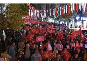 Tekirdağ'da 'Cumhuriyet' coşkusu
