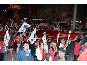 Didim'de 29 Ekim fener alayı düzenlendi