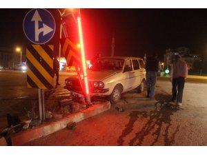 2 Otomobil çarpıştı: 2 yaralı