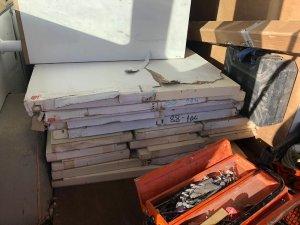 Mobilya parçalarının içerisinde 3 bin paket kaçak sigara çıktı
