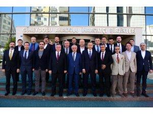 Vali Yerlikaya ihracatçılarla vedalaştı