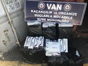 Van'da sigara kaçakçılığı