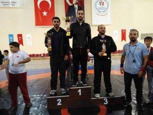 29 Ekim Cumhuriyet Kupası Güreş İl Birinciliği tamamlandı