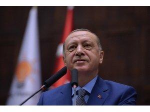 """Cumhurbaşkanı Erdoğan: """"Yakında daha kapsamlı ve etkili operasyonlarla terör örgütünün tepesine tepesine bineceğiz"""""""