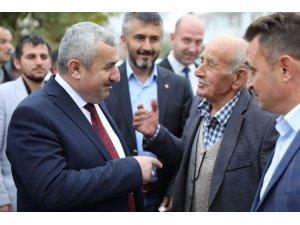Başkan Baran, vatandaşlarla bir araya geldi