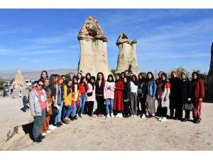İnönülü öğrenciler Kapadokya'da