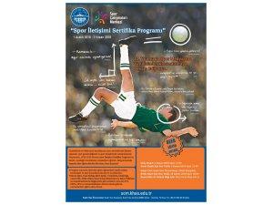 Spor İletişim Sertifika Programı başlıyor