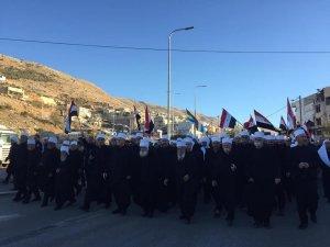 Suriyeliler, İsrail'deki seçimleri protesto etti