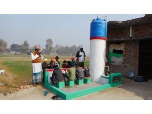 Türkiye'den Hindistan'a 100 su kuyusu