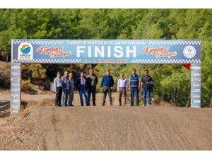 Kumluca,Türkiye Motokros Şampiyonası'na hazır