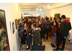 SDÜ'de Sanatçı Öğretim Elemanları Sergisi