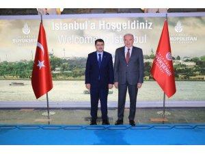 Vali Şahin'den Başkan Uysal'a veda ziyareti