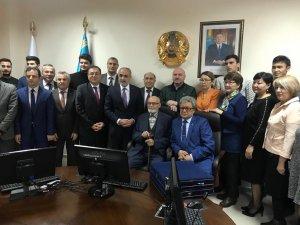 Topçu, Almatı'da Cumhuriyet'in 95. yıl dönümü kutlamasına katıldı