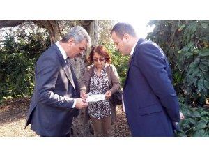 Daire Başkanı Şahin'den Aydın Tarım Müdürlüğüne ziyaret