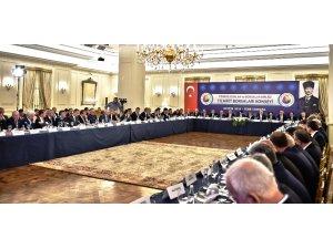 ATB Yönetim Kurulu Başkanı Çondur, Ticaret Borsaları Konsey toplantısına katıldı