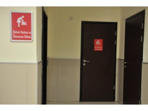 Edirne Adliyesi'nde bebek bakım ve emzirme odası açıldı