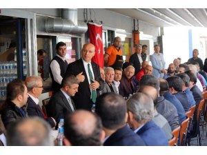 Başkan Yaşar, GİMAT esnafına konuk oldu