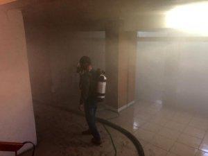 Kağızman'da okulda çıkan yangın nedeniyle öğrenciler tahliye edildi