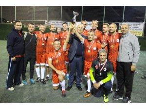 Cumhuriyet Kupası Halı Saha Turnuvasının şampiyonları belli oldu
