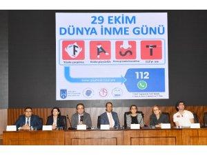 """Ankara Büyükşehir'den """"inme"""" farkındalığı için konferans"""