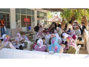 İlyasdere Muhtarı Tuncay Öztürk'ün mutlu günü