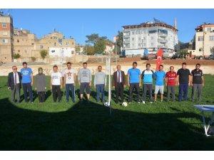 Oğuzeli'nde kurumlar arasındaki voleybol turnuvası başladı
