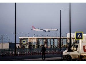 İstanbul Havalimanı'nda ilk sefer yapılıyor
