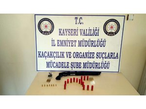 Kayseri'de suç örgütü operasyonu